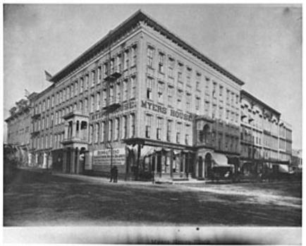 Meyers Hotel Janesville Wi 1875